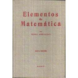 Elementos de matemática.