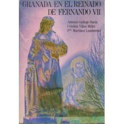 Granada en el reinado de Fernando VII.