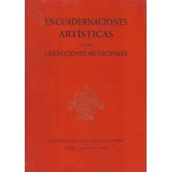 Encuadernaciones artísticas en las colecciones municipales.