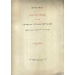 Descripción general de las monedas hispano-cristianas. Desde la invasión de los árabes. 3 vols.