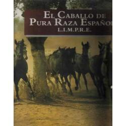 El caballo de pura raza española.