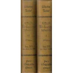 Précis de Médecine Infantile. 2 vols.