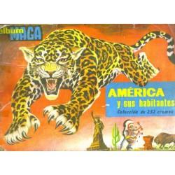 Album Maga: América y sus habitantes.