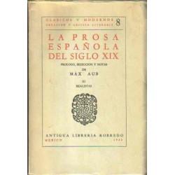La Prosa Española del Siglo XIX