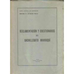 Reglamentación y cuestionarios del bachillerato marroquí