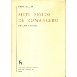 Siete siglos de romancero (historia y poesía)