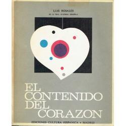 El contenido del corazón.