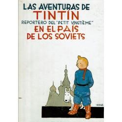 """Las Aventuras de Tintín reportero del """"Petit vingtième"""" en el país de los soviets."""