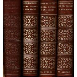 El libro de Las Mil y Una Noches. 4 vols.