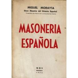 Masonería española.