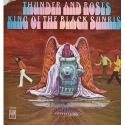 Thunder and roses. King of the black sunrise.