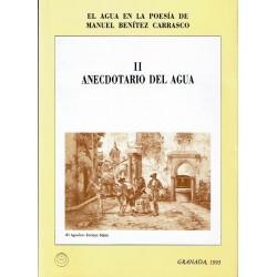 El agua en la poesía de Manuel Benítez Carrasco.