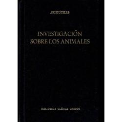 Investigación sobre los animales.