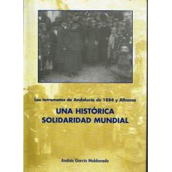 Los terremotos de Andalucía de 1884 y Alhama. Una histórica solidaridad mundial.
