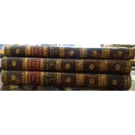 La Sagrada Biblia (Nuevo testamento) más Notas generales puestas en forma de Diccionario. 3 vols.