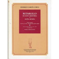 Retablillo de Don Cristóbal y Doña Rosita.