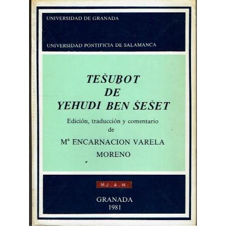 Tesubot de Yehudi Ben Seset.