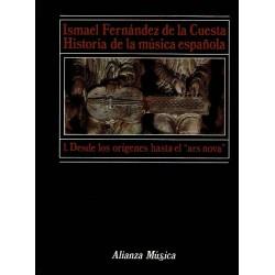"""Historia de la música española: I. Desde los orígenes hasta el """"ars nova""""."""