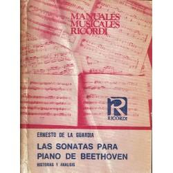Las sonatas para piano de Beethoven. Historias y análisis.