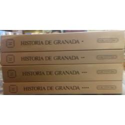 Historia de Granada. 4 vols.