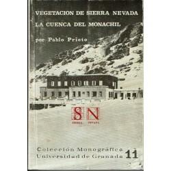 Vegetación de Sierra Nevada, la Cuenca del Monachil