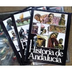 Historia de Andalucía. 3 tomos.