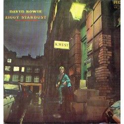 The rise and fall of Ziggy Stardust and the Spiders from Mars.