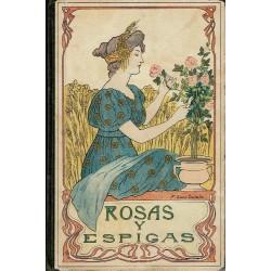 Rosas y espigas.