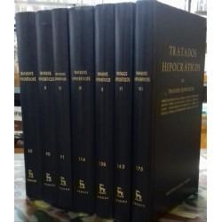 Tratados hipocráticos I, II, III, IV, V, VI, VII.