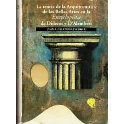 """La teoría de la arquitectura y de las bellas artes en la """"Encyclopédie"""" de Diderot y D'Alembert."""
