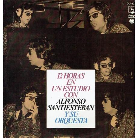 12 horas en un estudio con Alfonso Santiesteban y su Orquesta.