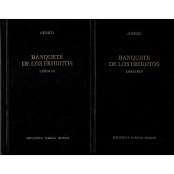 Banquete de los eruditos. 2 vols.