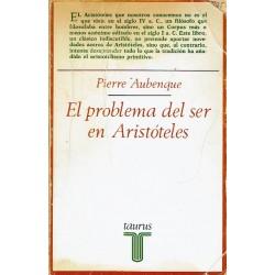 El problema del ser en Aristóteles.