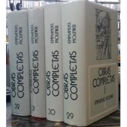 Obras completas I, II, III y IV.