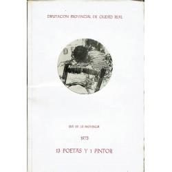 Día de la Provincia 1973. 13 poetas y 1 pintor.