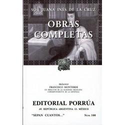 Sor Juana Inés de la Cruz: Obras completas.