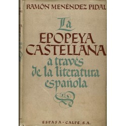 La epopeya castellana a través de la literatura española.