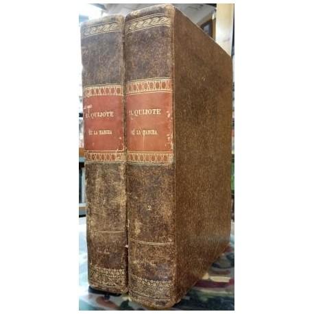 EL Ingenioso Hidalgo Don Quijote de la Mancha. 2 vols.