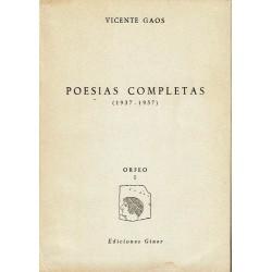 Poesías completas (1937 - 1957).