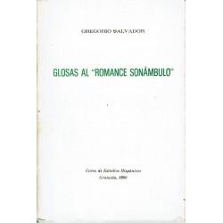 "Glosas al ""Romance sonámbulo""."