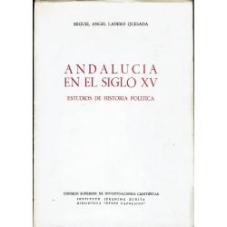 Andalucía en el siglo XV. Estudios de historia política.