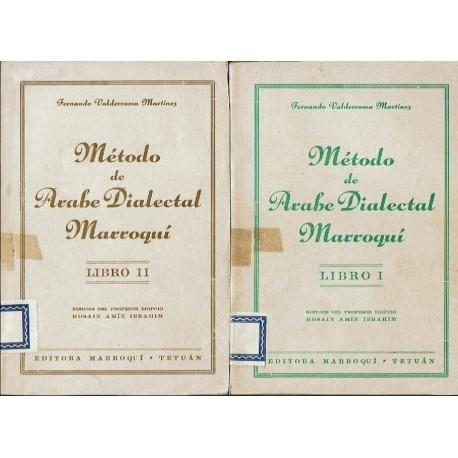 Método de árabe dialectal marroquí. Libros I y II.