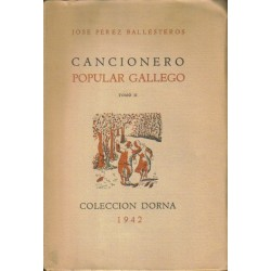 Cancionero popular gallego. Tomo II.