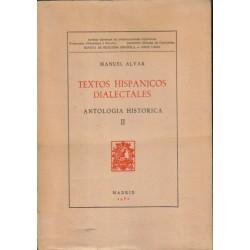 Textos hispánicos dialectales. Antología histórica.