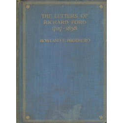 The letters of Richard Ford 1967-1858