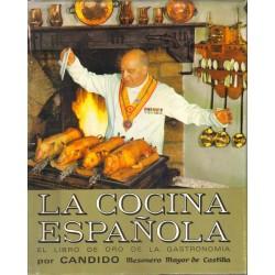 La cocina española. El libro de oro de la gastronomía.