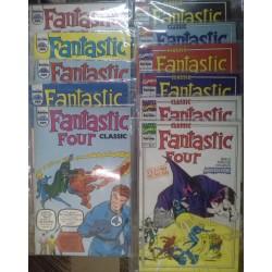 Fantastic Four Classic. 11 números. Colección completa.