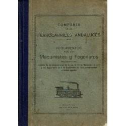 Reglamentos para los maquinistas y fogoneros.