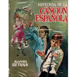 Historia de la canción española.