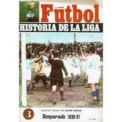 Fútbol. Historia de la liga. Lote.